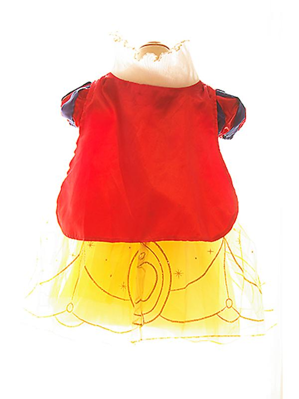 ドレス:バックスタイル。