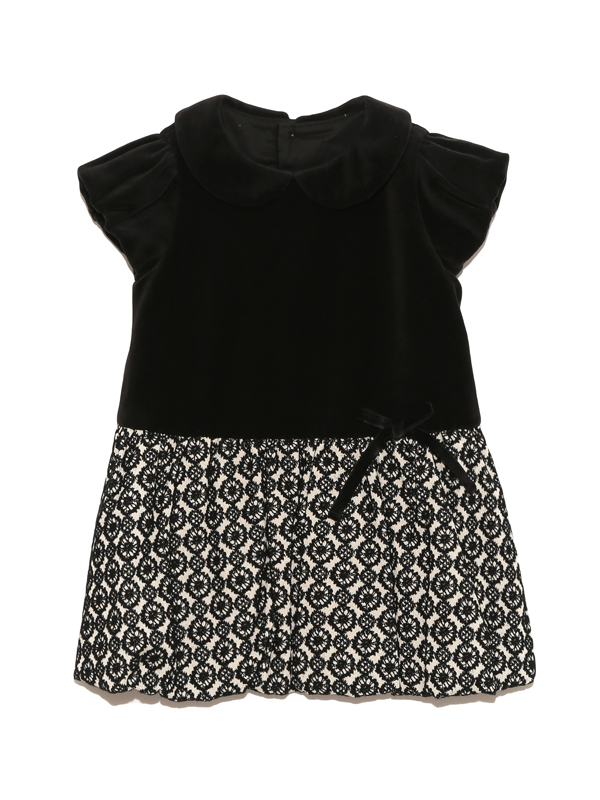 バルーンスカートが可愛さアップのワンピースタイプのドレスです。結婚式やお食事会など幅広いシーンでお召し頂けます。