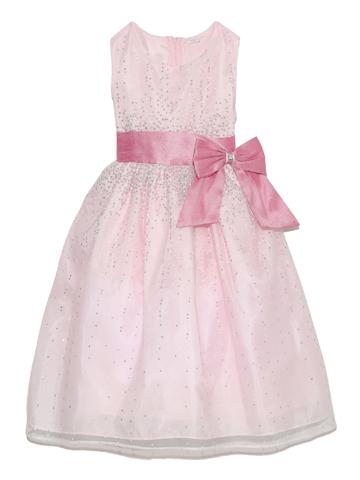 ドレス全体にあしらわれたシルバーラメがダイヤモンドの輝きのようなドレスです。幅広いシーンでご活用いただけます。
