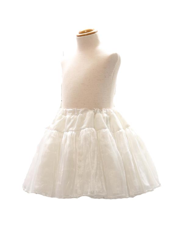 ドレス専用パニエ付き。
