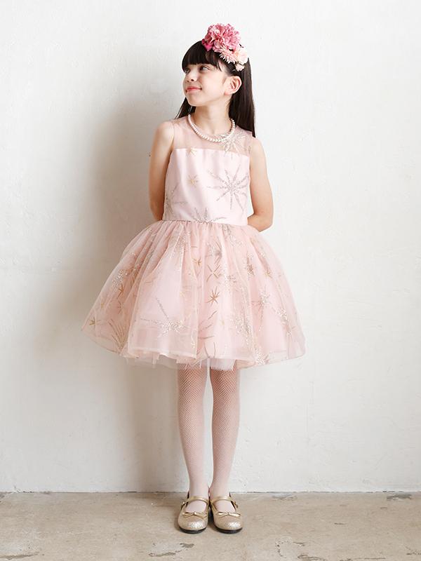 写真は、ドレス シャイニーコーラルです。