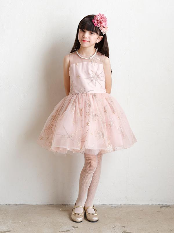 ドレス:シャイニーコーラルとコーディネート
