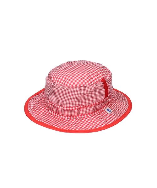 <たためる帽子>キッズ ポケット ハット レッド(販売品)