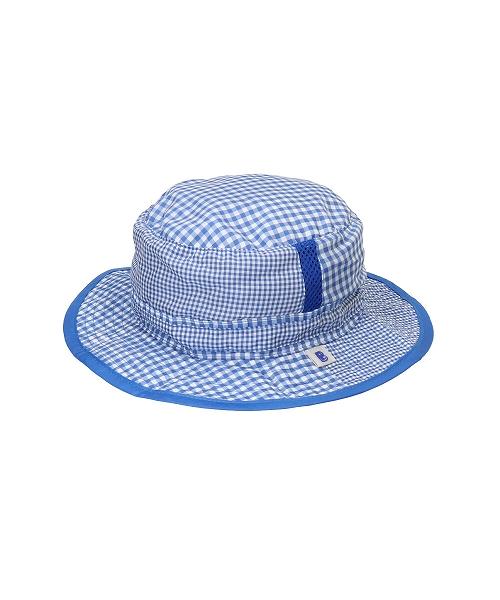 <たためる帽子>キッズ ポケット ハット ブルー(販売品)