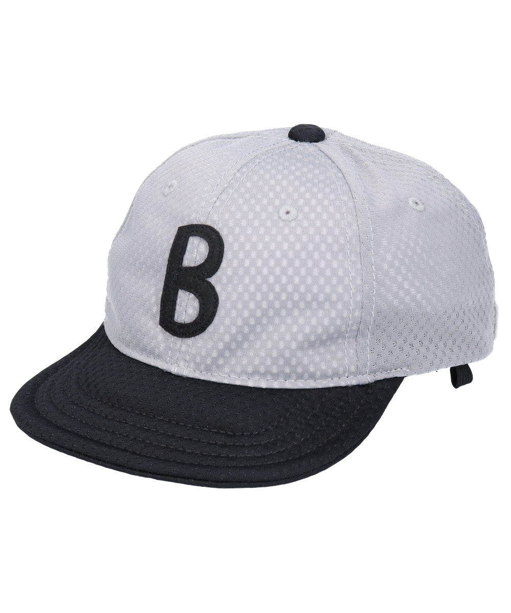 <たためる帽子>キッズ ポケット キャップ グレー(販売品)