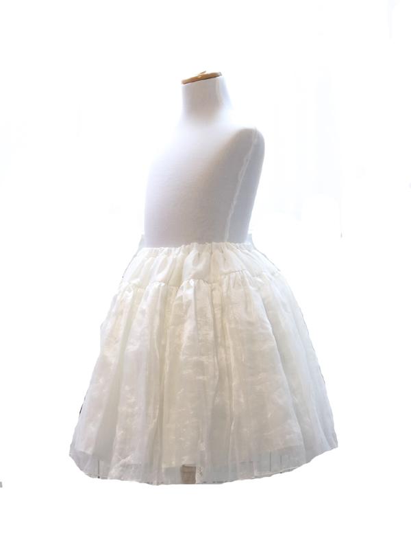 パニエでスカートふんわり可愛さアップ